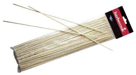 Bambus-Spiesse, Beutel mit 100 Stück, Länge 30cm