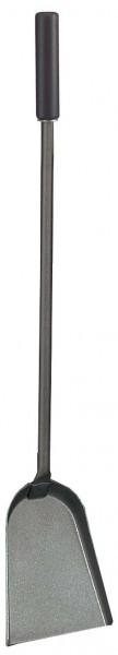 Schaufel anthrazit mit schwarzen Holzgriff