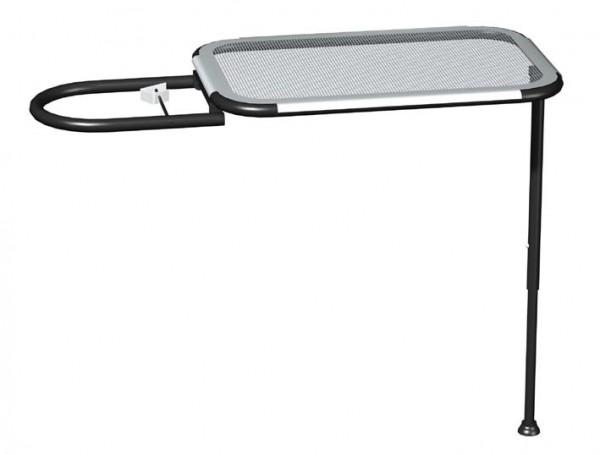 Butler Arbeitstisch mit den Abmessungen von 54 x 32cm, besteht aus lackiertem Stahlblech