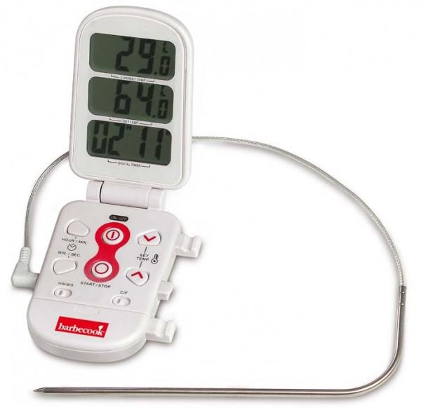 Grill Thermometer Digital, von -40 bis 300°C, mit Kurzzeitwecker