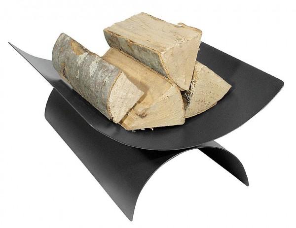 Holzkorb anthrazitfarbig mit Länge: 30cm x  Breite: 44cm