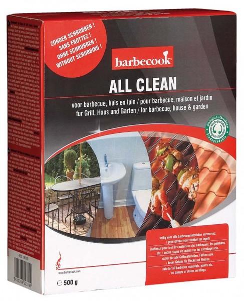 Reinigungspulver ALL CLEAN, 500g, Entfernt Fett, Fleisch und Ruß