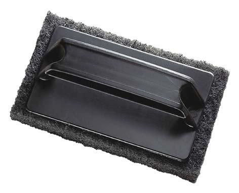 Nylon-Bürste mit Kunststoffgriff, Abmessungen 15 x 9 x 2,5cm