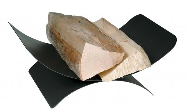 Holzkorb schwarz mit Länge 30cm x Breite44 cm