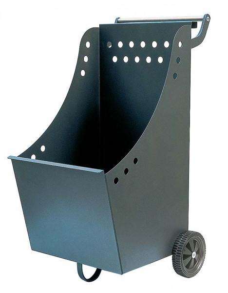 Holzwagen anthrazit beschichtet mit B: 33,50cm x  L:55cm x H:85cm