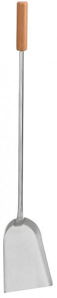 Schaufel aus Edelstahl mit Buchengriff, Länge ca. 56cm