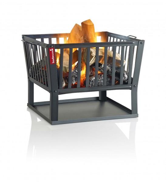 Feuerschale aus Stahl, mit LxBxH 62x62x48,5cm